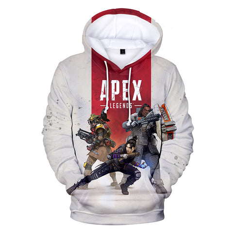 Apex Legends Hoodies - Apex Legends Game Series Hero Combination 3D Hoodie