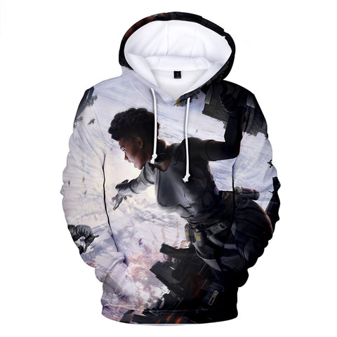 Apex Legends Hoodies - Apex Legends Game Series Hero Bangalore 3D Hoodie