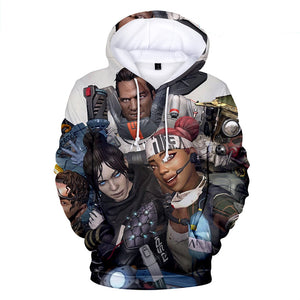 Apex Legends Hoodies - Apex Legends Game Series Soldier 3D Hoodie