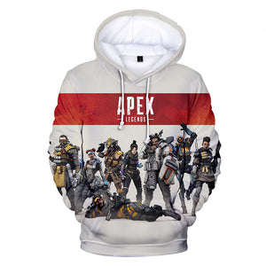 Apex Legends Hoodies - Apex Legends Game Series Hero Character Combination 3D Hoodie