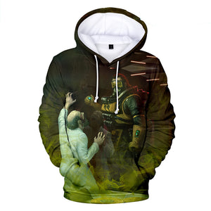 Apex Legends Hoodies - Apex Legends Game Series Hero Caustic 3D Hoodie