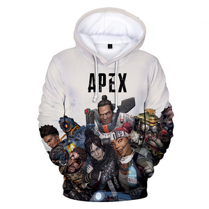Apex Legends Hoodies - Apex Legends Game Series Character Combination Battle Royale 3D Hoodie