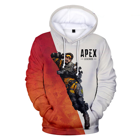 Apex Legends Hoodies - Apex Legends Game Series Mirage Battle Royale 3D Hoodie