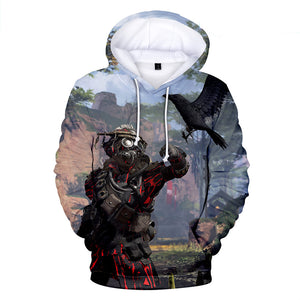 Apex Legends Hoodies - Apex Legends Game Series Bloodhound Battle Royale 3D Hoodie