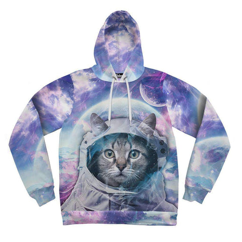 Image of Astro Cat Mens Hoodie