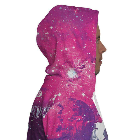 Image of Astronaut Flag Hoodie