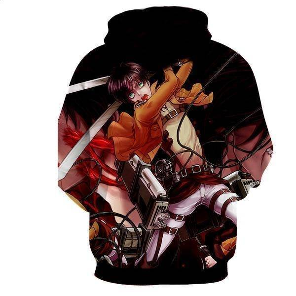 Attack On Titan Levi Ackerman Hoodie