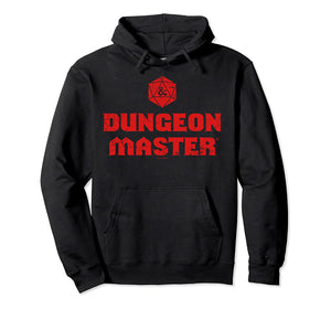Dungeons and Dragons Hoodie - Dungeon Master Logo Pullover Hoodie 4 Colors Optional