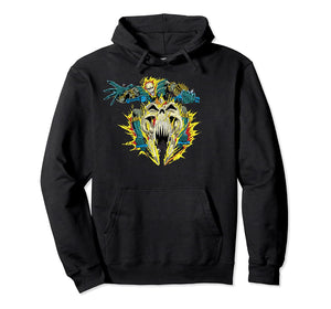 Ghost Rider Action Shot Pullover Hoodie