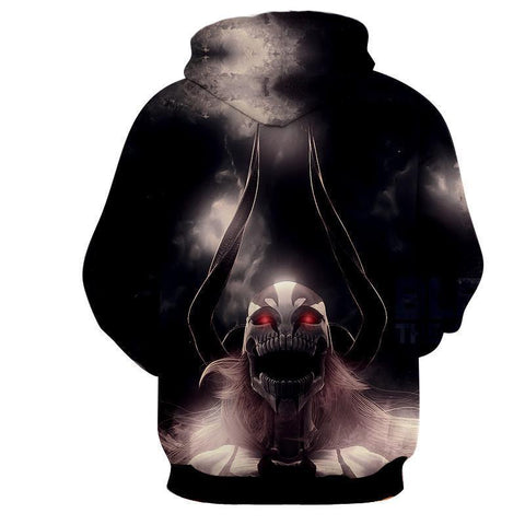 Image of Black Lorde Vasto Bleach 3D Printed Hoodie