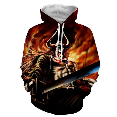 Cool Lorde Vasto Bleach 3d Printed Bleach Hoodie