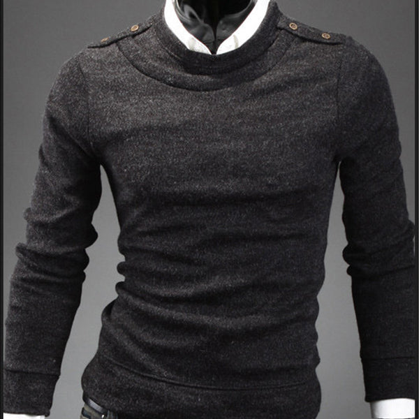 Solid Color Sweatshirts - Black Grey Cardigan Sweatshirt