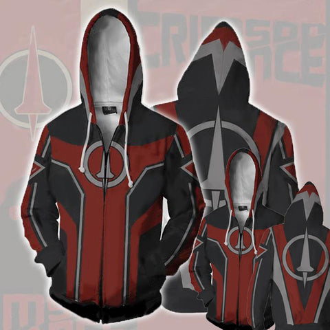 Borderlands Crimson Lance Hoodies - Zip Up Borderlands Hoodie