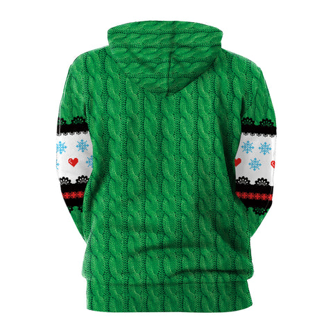 Image of Christmas Hoodies - Christmas Style Christmas Deer 3D Hoodie
