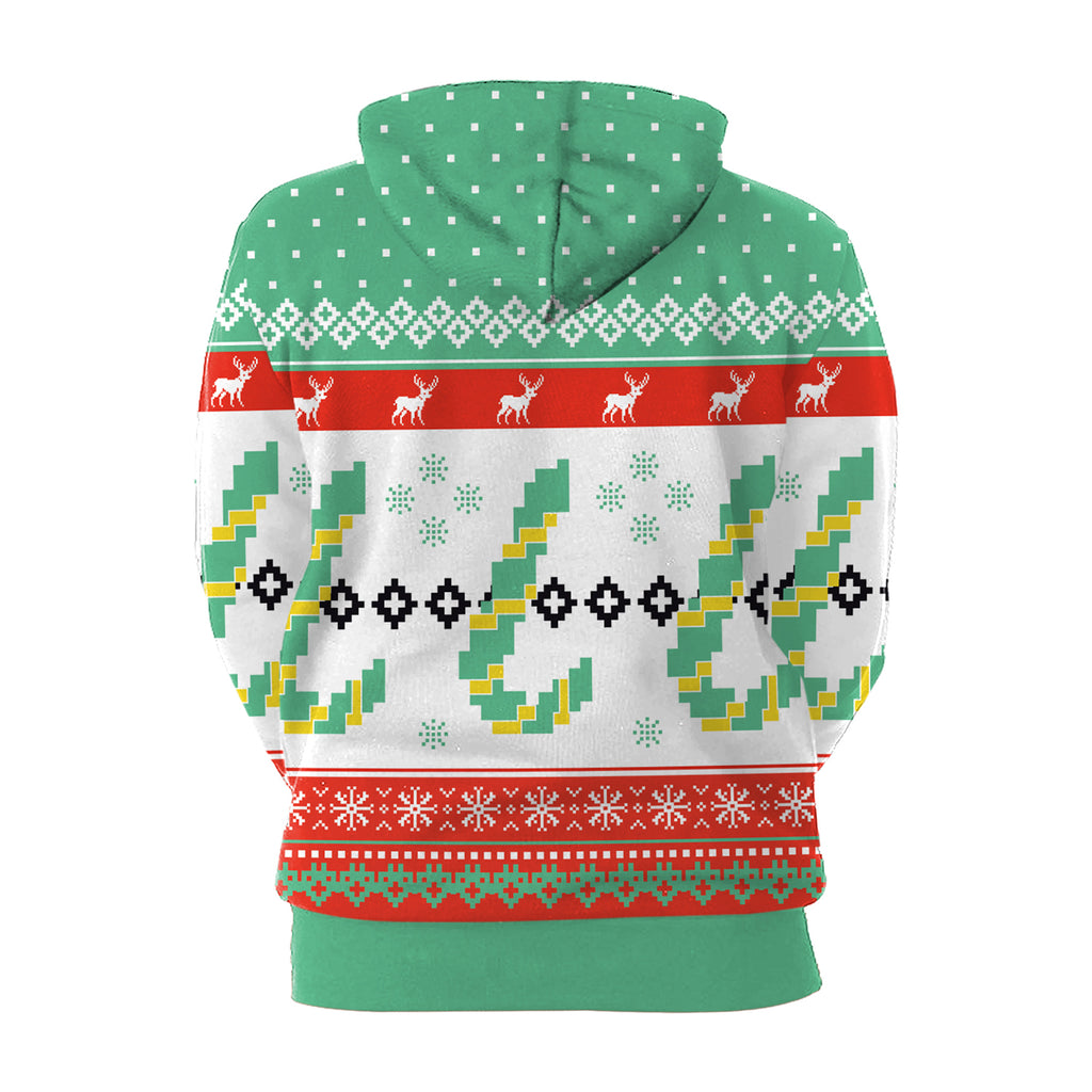 Christmas Hoodies - Christmas Cheerful Multi-Color 3D Hoodie