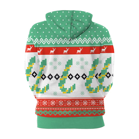 Image of Christmas Hoodies - Christmas Cheerful Multi-Color 3D Hoodie