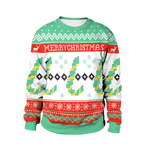 Image of Christmas Sweaters - Christmas Festive Atmosphere 3D Crew Neck Sweatshirt