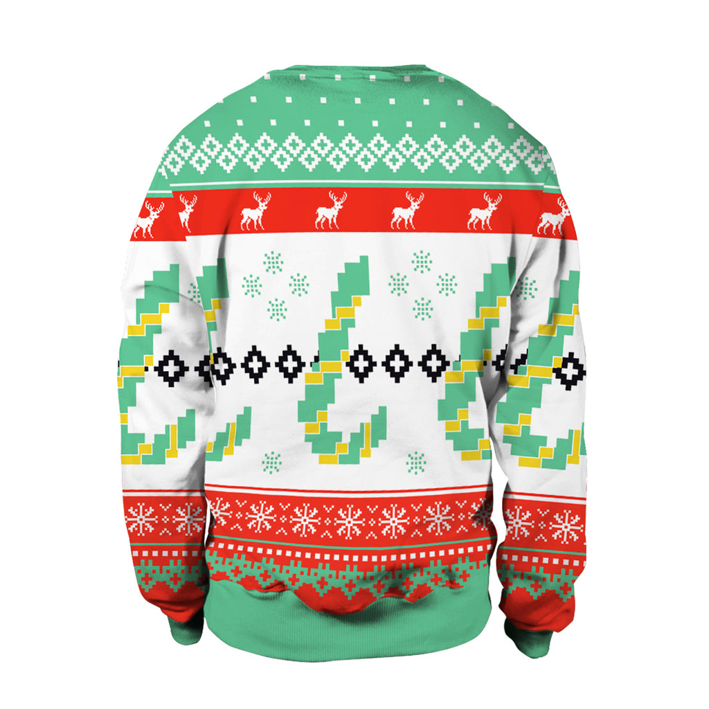 Christmas Sweaters - Christmas Festive Atmosphere 3D Crew Neck Sweatshirt