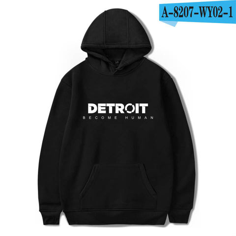 Image of Game Detroit Become Human 3D Uniform Hoodies Sweatshirts