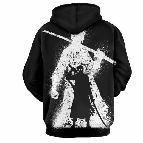 Image of Dark Zoro 3D Hoodie - One Piece