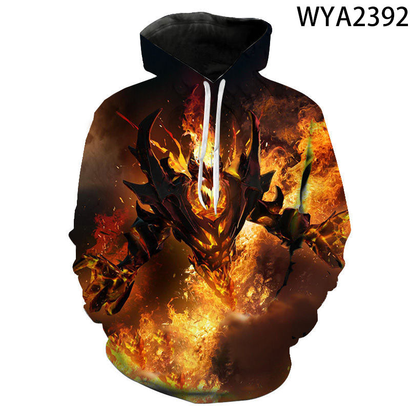 3D Printed Defense of the Ancients Hoodies - DOTA 2 Sweatshirts Pullover