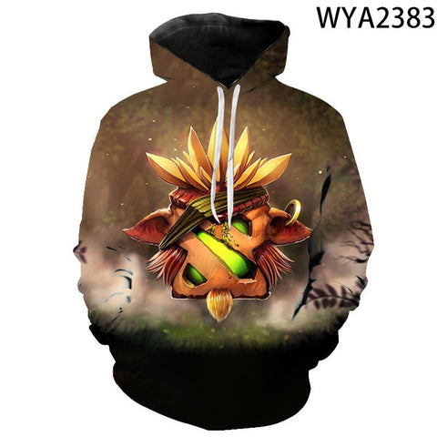 Image of 3D Printed Defense of the Ancients Hoodies - DOTA 2 Sweatshirts Pullover