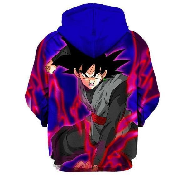 Dragon Ball Super Z- Black Goku 3D Hoodie