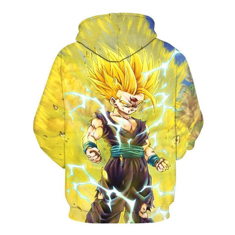 Image of Dragon Ball Z- Goku Super Saiyan 3D Hoodie