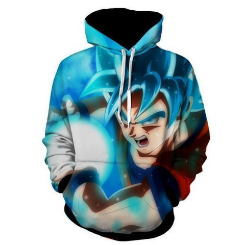 Image of Dragon Ball Z- Goku Kamehameha Hoodie