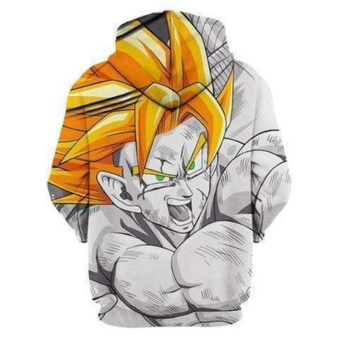 Image of Dragon Ball Z 3D Printed Hoodie