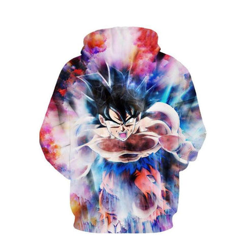 Image of Dragon Ball Z- Goku Ultra Instinct 3D Hoodie