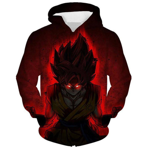 Image of Dragon Ball Z- Evil Goku 3D Hoodie