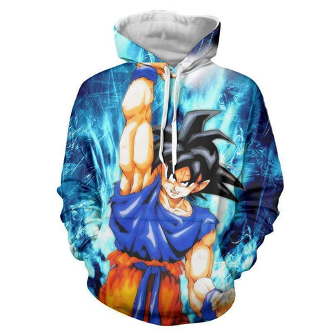 Image of Dragon Ball Z- Goku 3D Hoodie