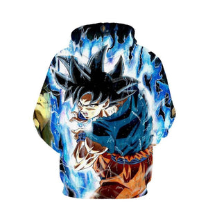 Dragon Ball Z- Goku Instinto Superior 3D Hoodie