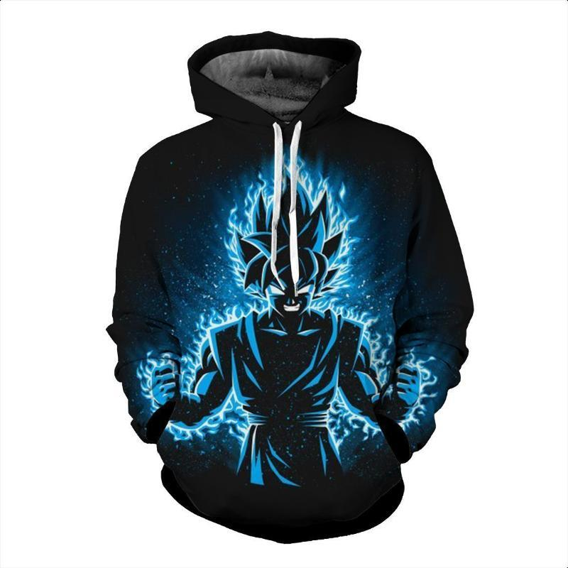Dragon Ball Z- Goku SSJ Blue Hoodie