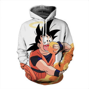 Dragon Ball Z- Hungry Goku 3D Hoodie