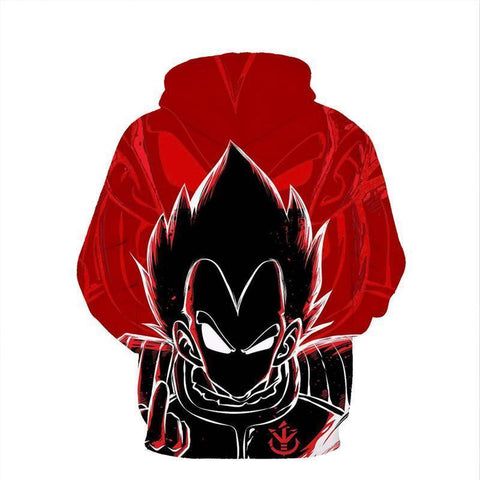 Dragon Ball Super Z - Saiyan Vegeta 3D Hoodie