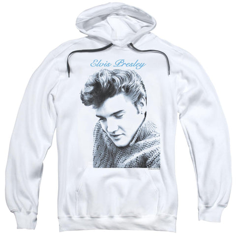 Elvis Presley Hoodies: SCRIPT SWEATER Pull-Over Hoodie