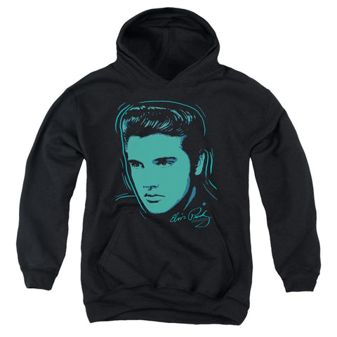 Elvis Presley Hoodies: YOUNG DOT Pull-Over Hoodie