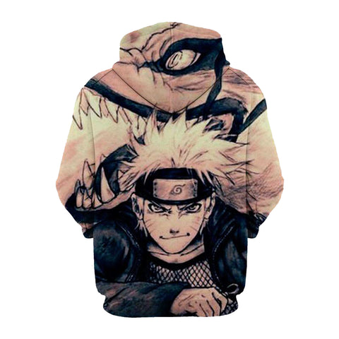 Image of Naruto Shippuden 3D Printed Hoodie