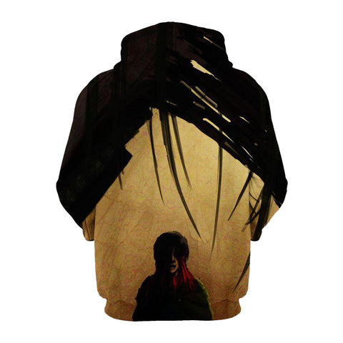 Image of The Female Titan Anime - Attack On 3D Printed Hoodie