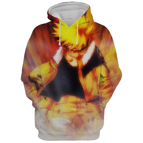 Image of Naruto Shippuden 3D Printed Hoodie Jacket