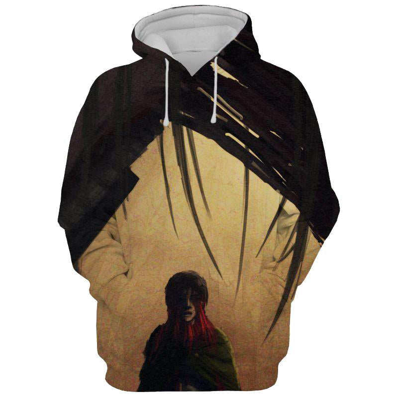 The Female Titan Anime - Attack On 3D Printed Hoodie