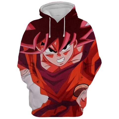 Image of Kaioken Goku Dragon Ball Z 3D Printed Hoodie