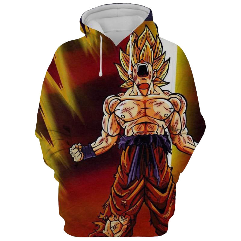 Dragon Ball Z Son Goku 3D Printed Hoodie