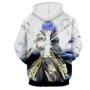 Fairy Tail Jellal white Fairy Tail Hoodie