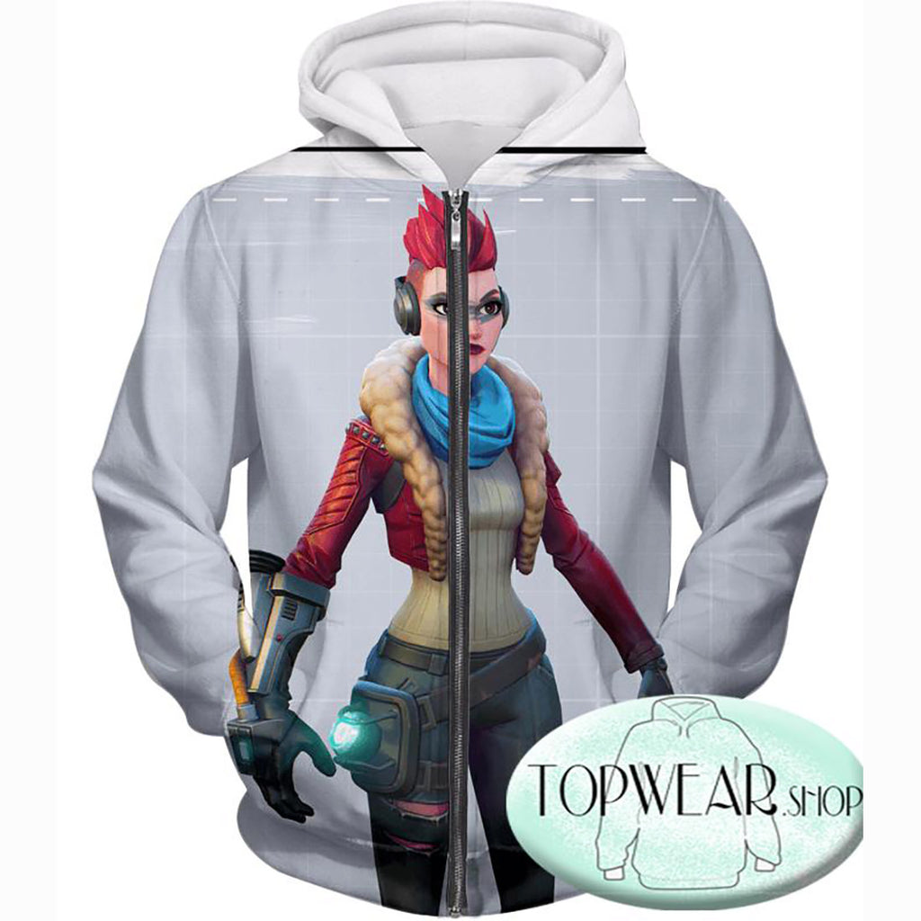 Fortnite Hoodies - Battle Royale Team Game 3D Zip Up Hoodie