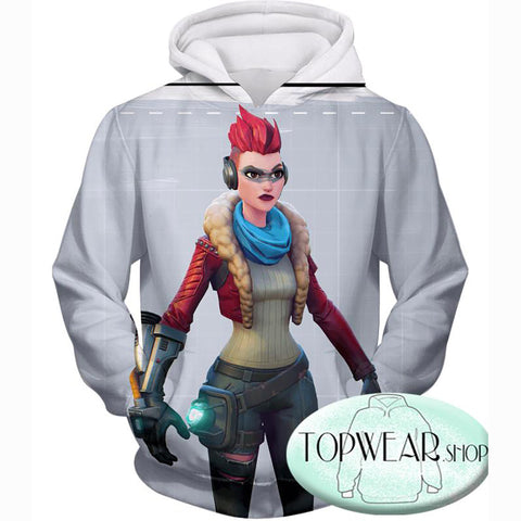 Image of Fortnite Hoodies - Battle Royale Team Game 3D Zip Up Hoodie