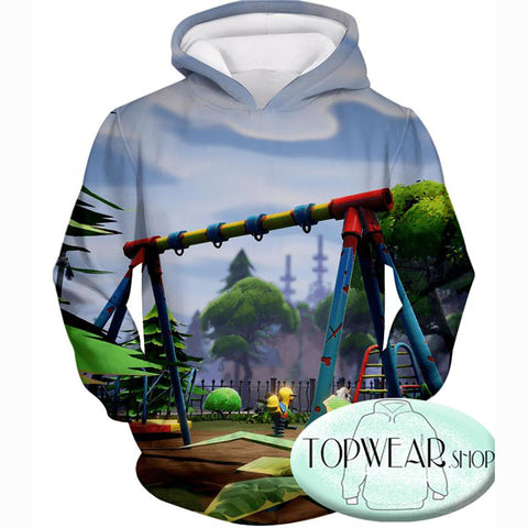 Image of Fortnite Hoodies - Battle Royale Traps Gameplay 3D Zip Up Hoodie