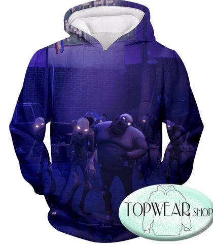 Image of Fortnite Sweatshirts - PVE Husk Monsters 3D Sweatshirt